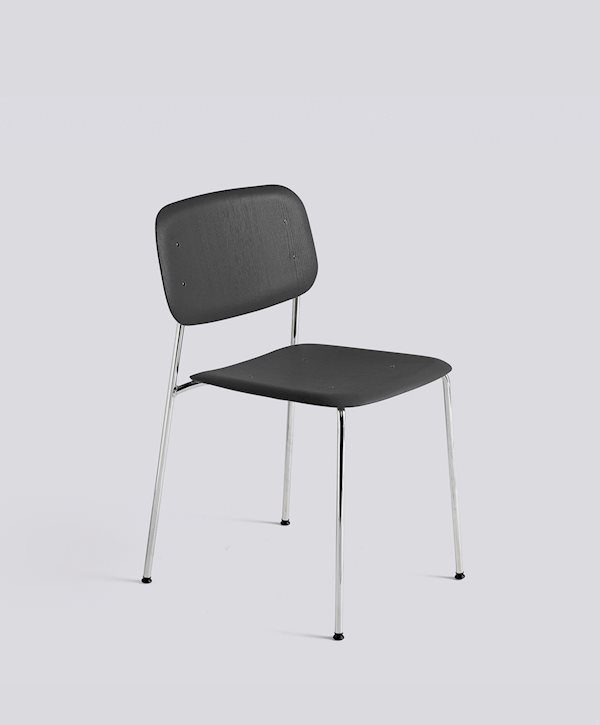 HAY_Soft edge 10_oak black stained seat_chrome base
